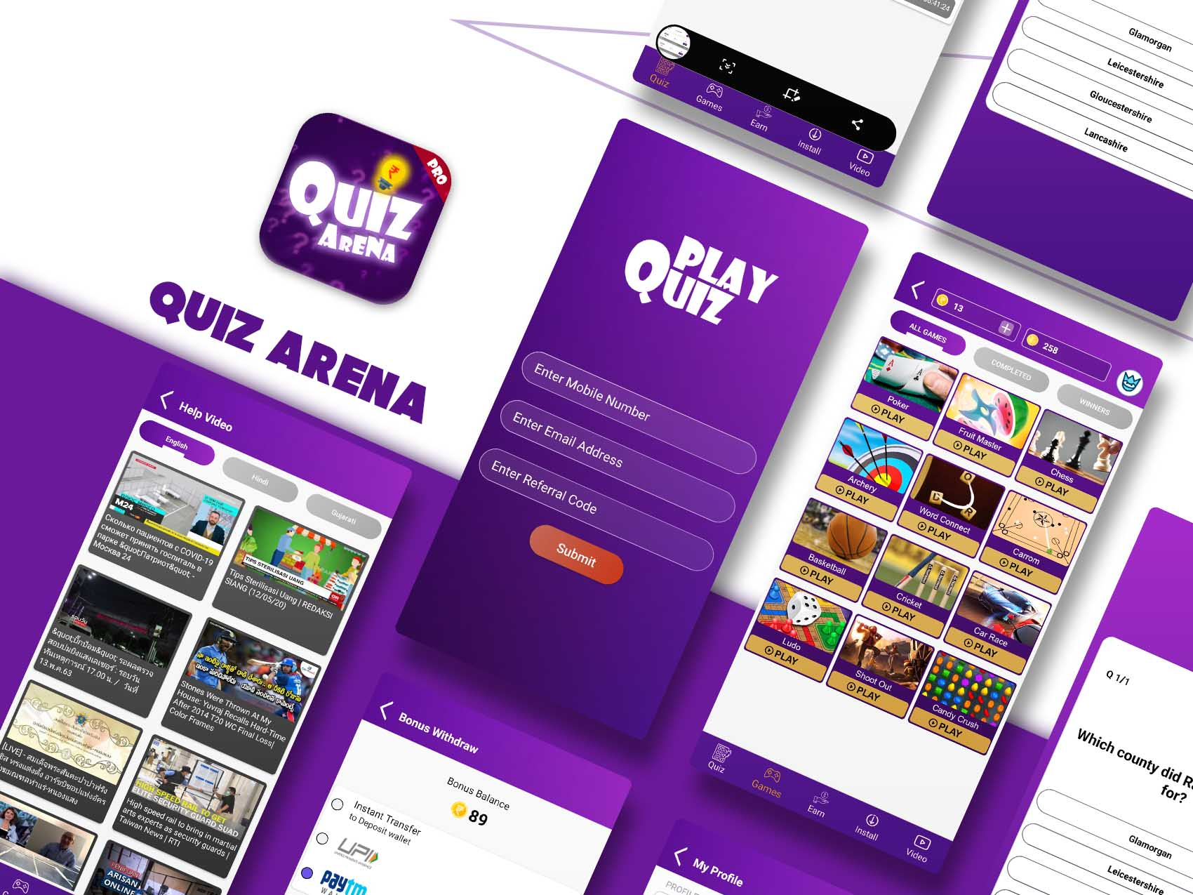 Quiz arena pro